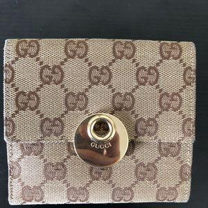 Guccissimi Bi-Gold wallet
